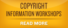 Image of Copyright Information Workshops with link
