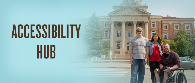 Accessibility Hub banner
