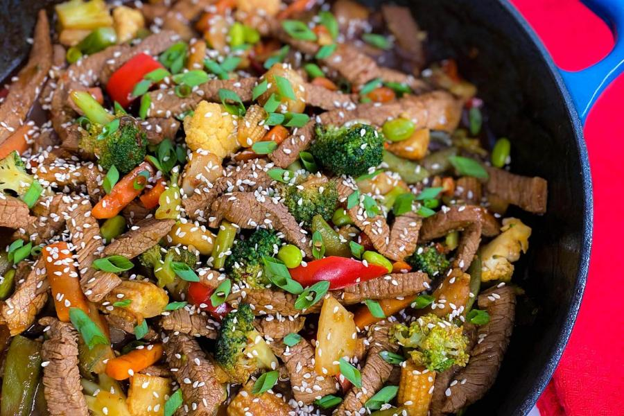 MAKE Recipes Ginger Stir Fry