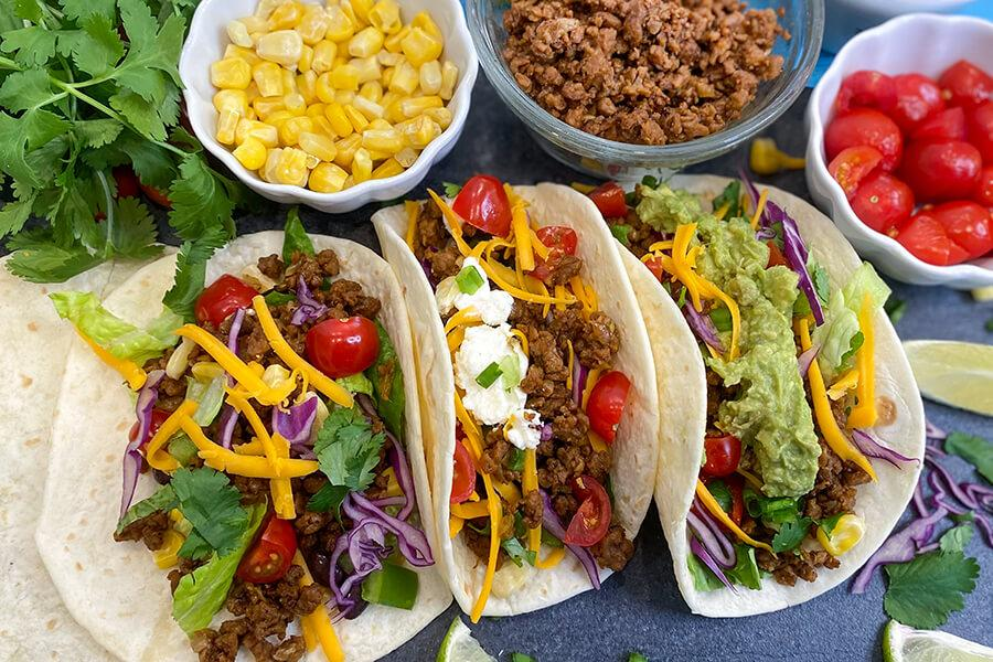 MAKE Vegetarian Taco recipe