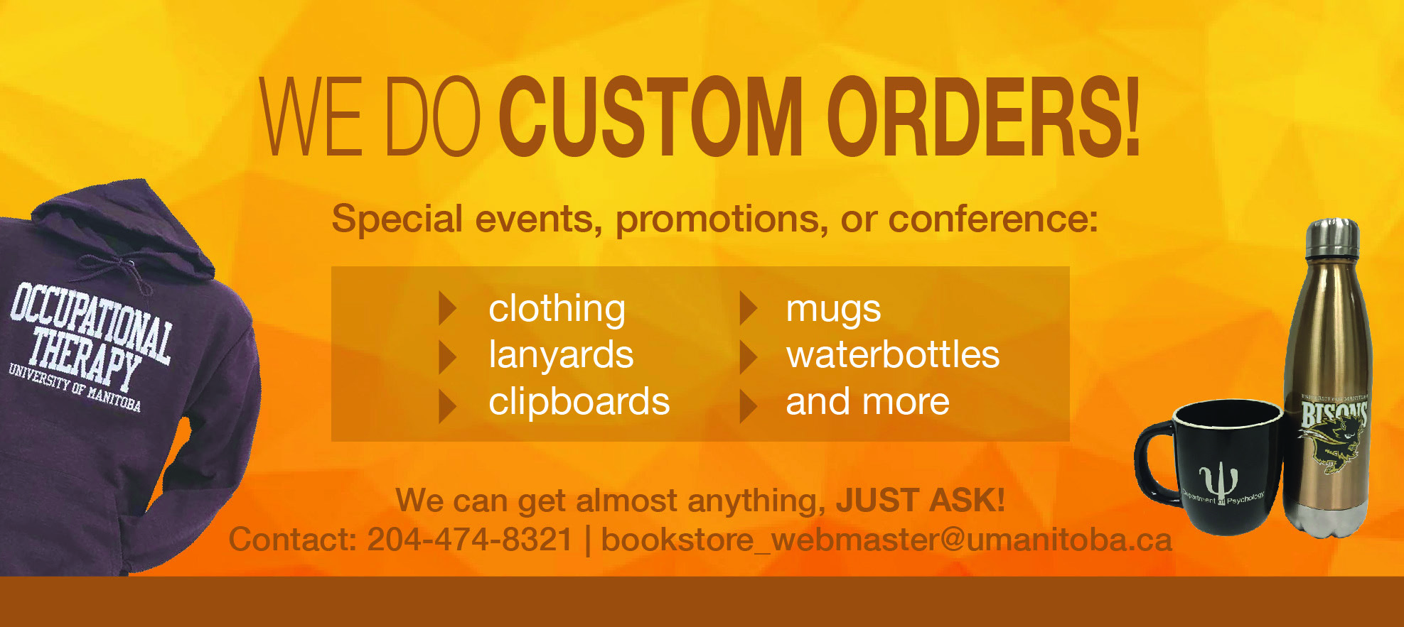 Custom Orders Graphic