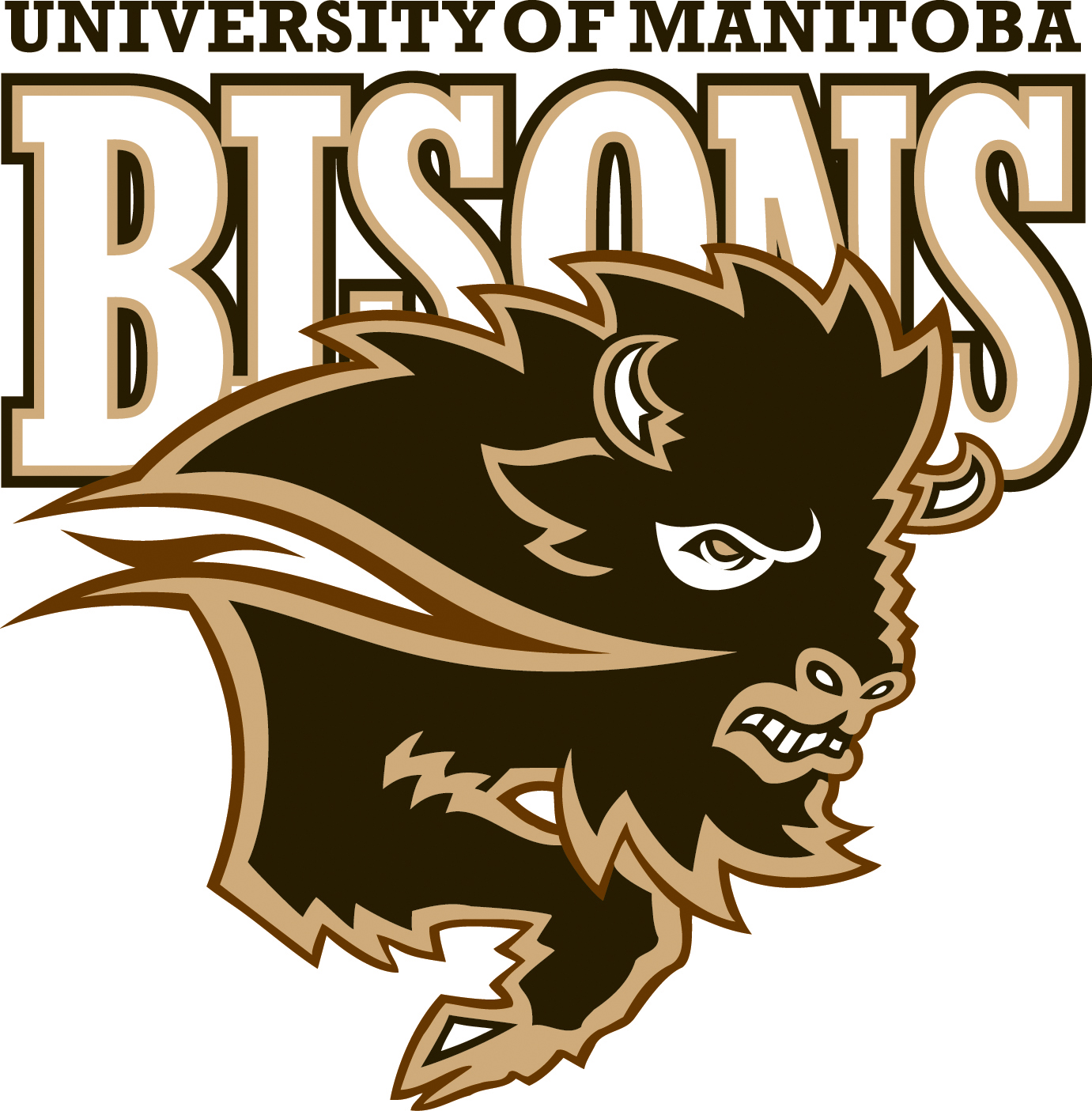 University Of Manitoba Fort Garry Bookstore Bisons Logo Downloads