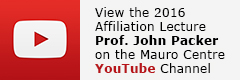 2016 Affiliation Lecture John Packer