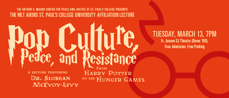 Pop Culture, Peace, and Resistance: From Harry Potter to the Hunger Games