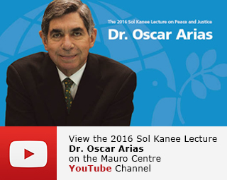 2016 Sol Kanee Lecture Dr. Oscar Arias