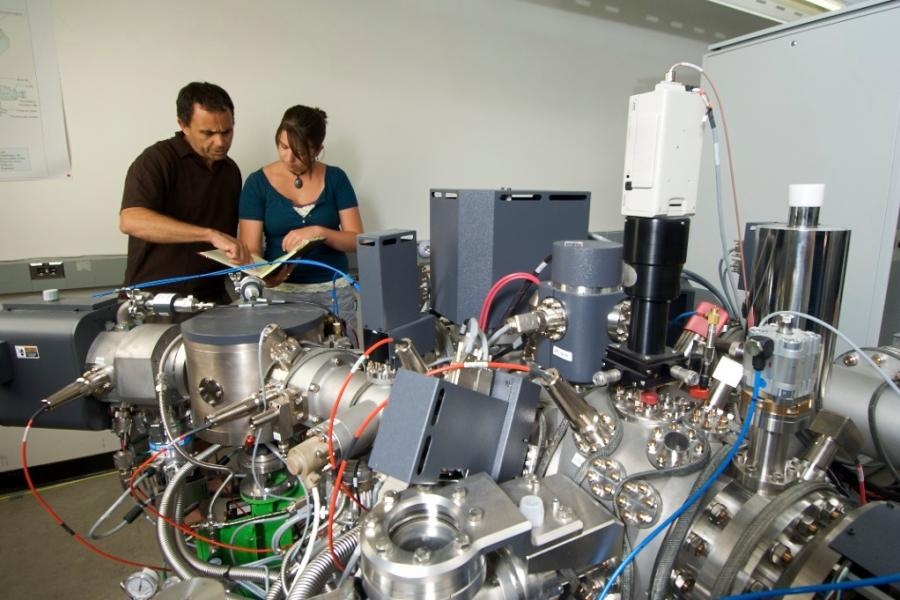 research with Secondary Ion Mass Spectrometer
