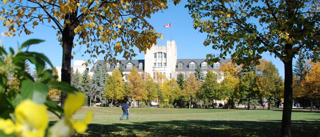 A view of the University of Manitoba Tier building at the Fort Garry campus.