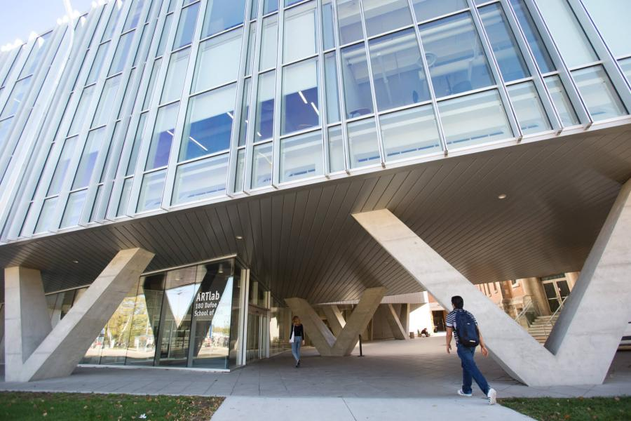 The ArtLab building at the University of Manitoba Fort Garry Campus.