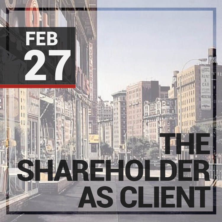 The Shareholder as Client