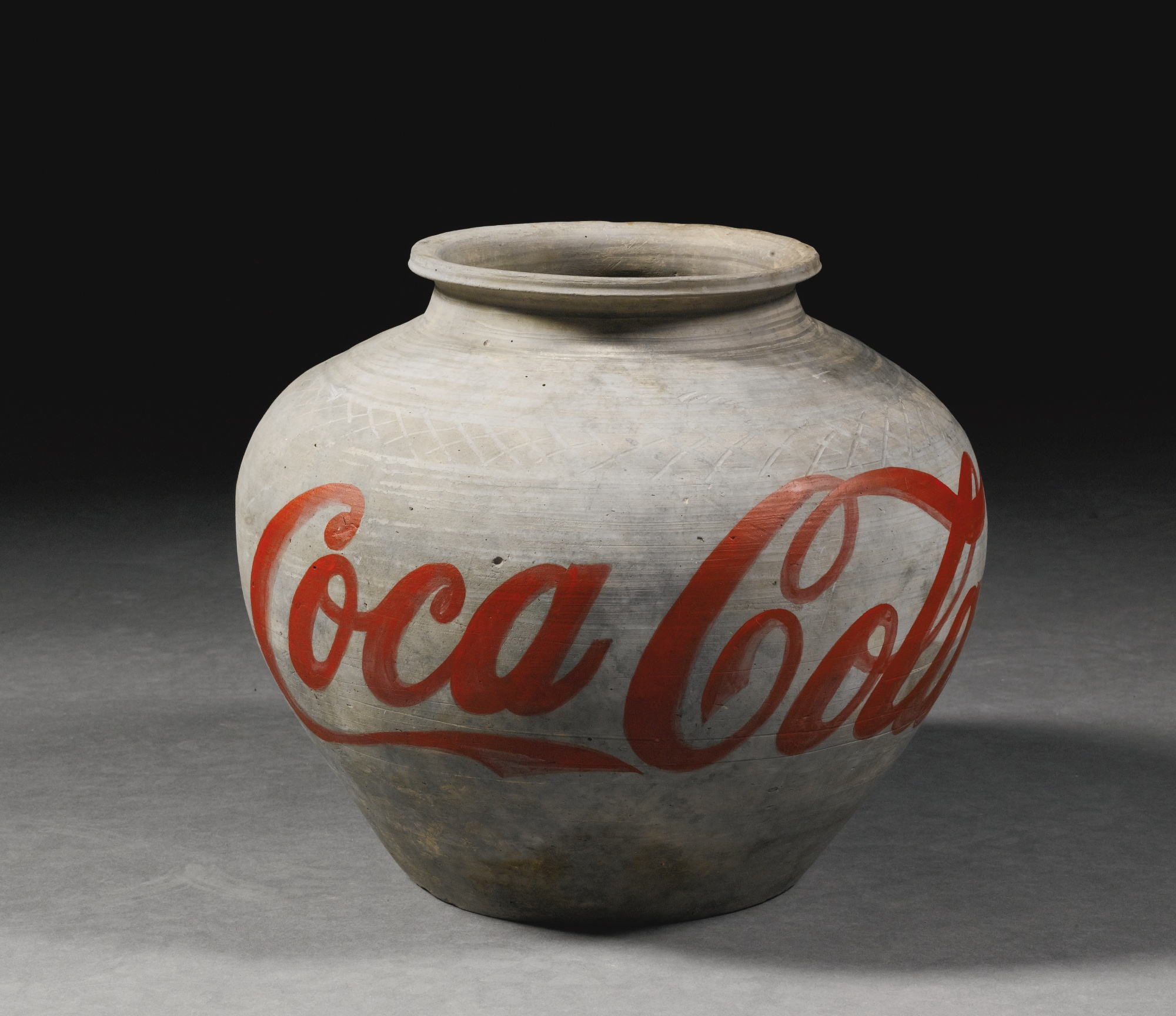 Ai Weiwei, Han Dynasty Coca-Cola Vase with paint at the