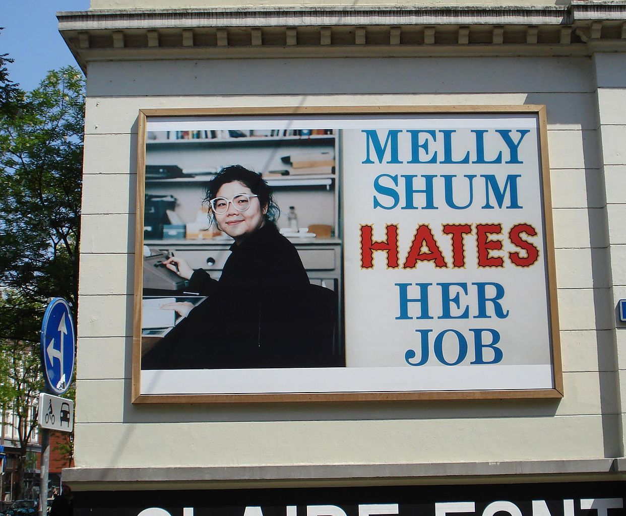 Melly Shum billboard