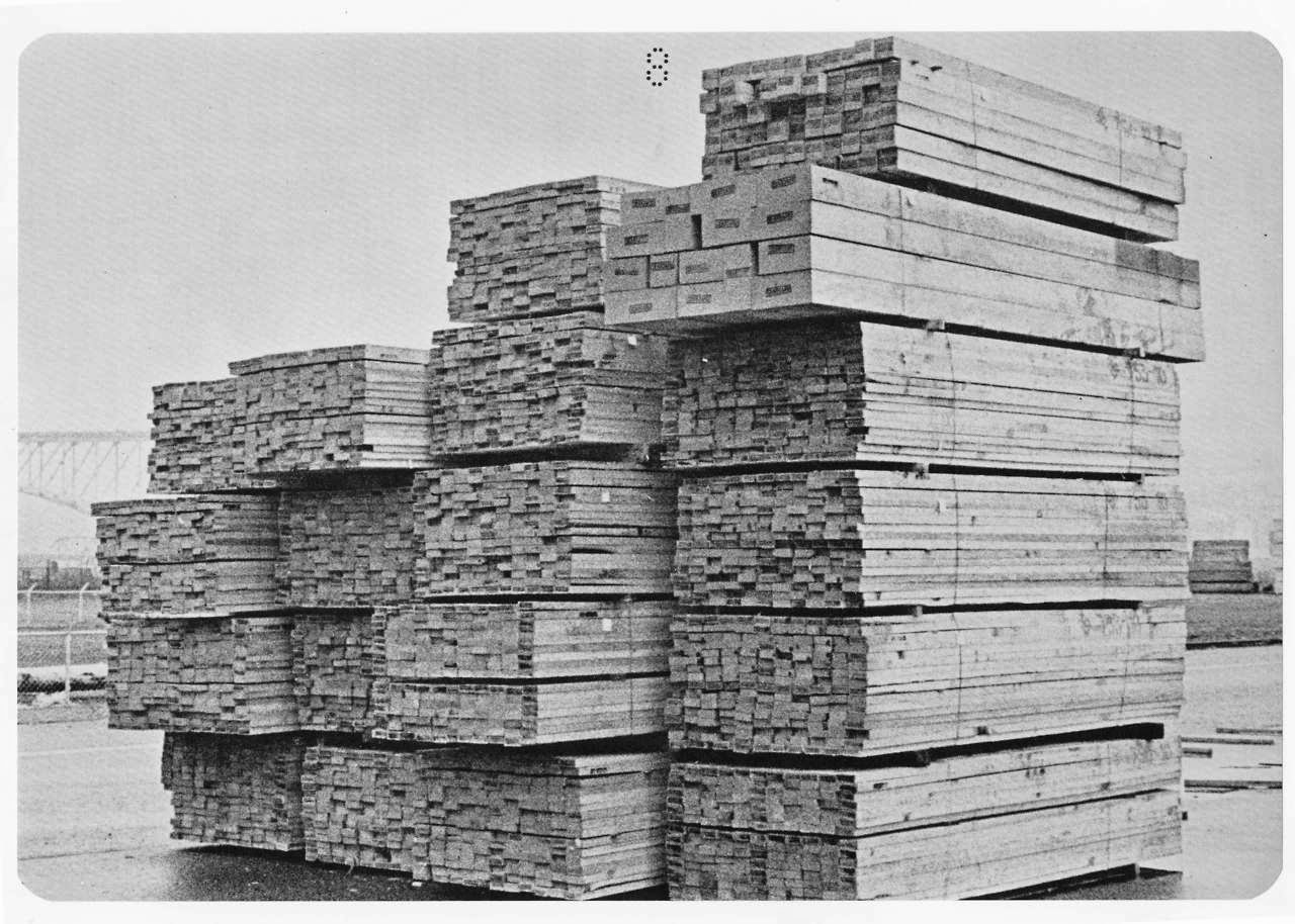 Piles of Lumber