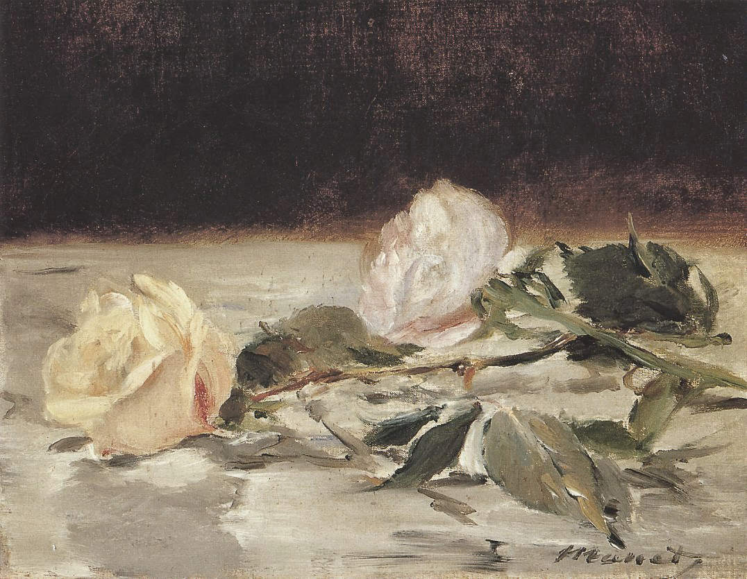 Manet two roses