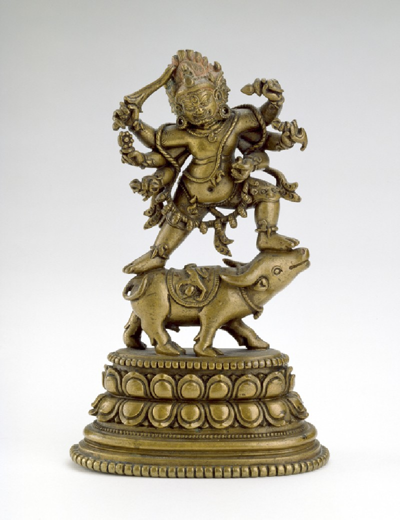 Bronze Yamantaka