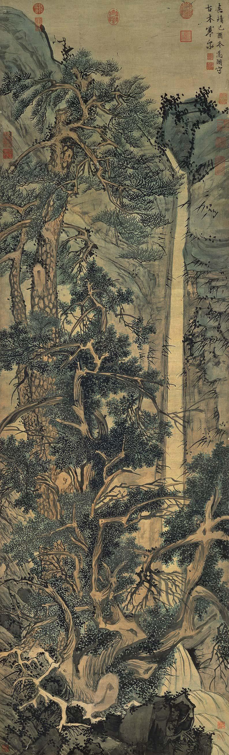 Wen Zhengming painting