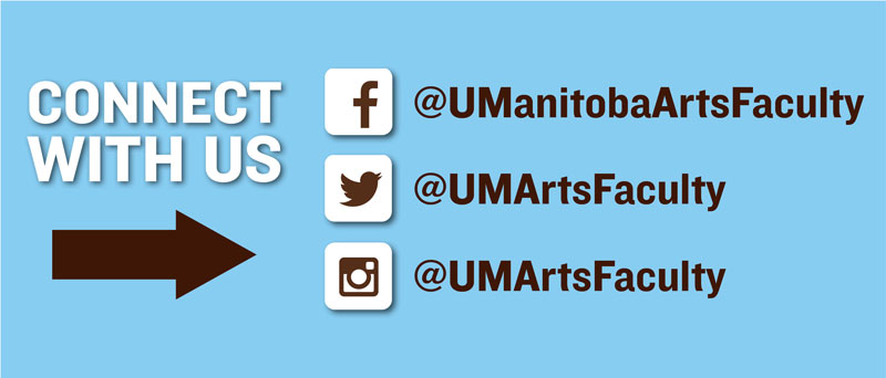 Connect with the Faculty of Arts on social media