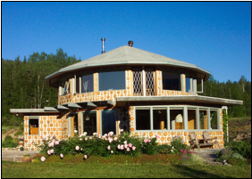 University of manitoba faculty of engineering the for Cordwood house cost