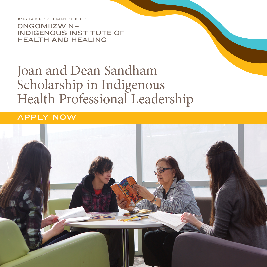Joan and Dean Sandham Scholarship - click to apply