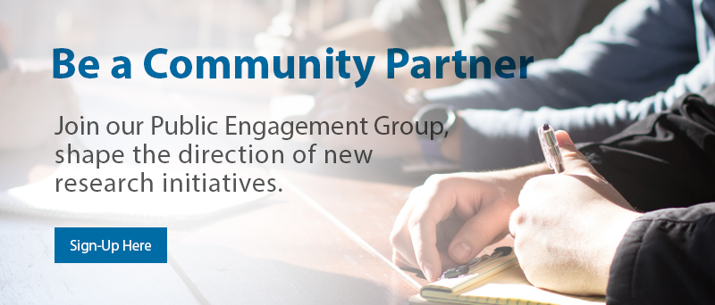 Join our Public Engagement Group!