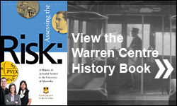View the latest on the Warren Centre's history