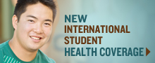 New International Student Health Coverage