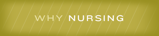 why nursing graphic