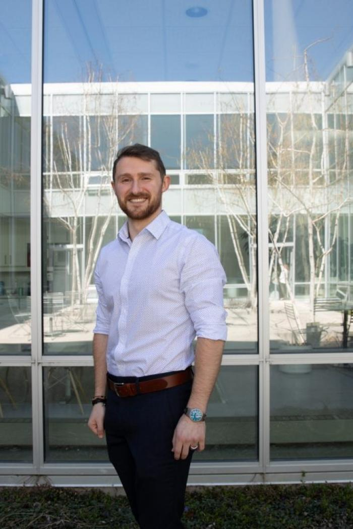 Andrew Hogan is one of six 2019 Vanier Canada Graduate Scholarship recipients from the University of Manitoba