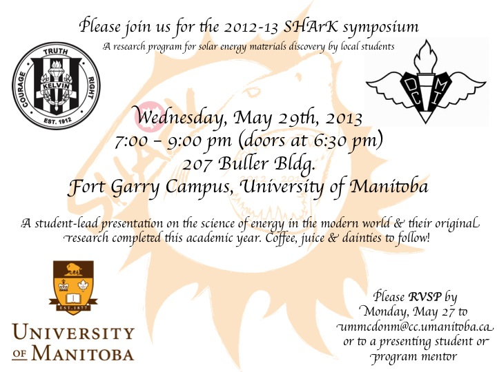 SHArK Symposium Invitation 2012-2013