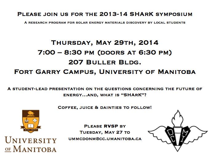 SHArK Invitation 2014