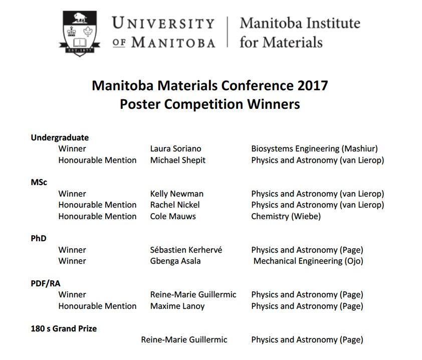 MMC 2017 Awards