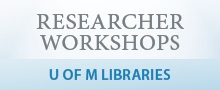 Libraries Researcher Workshops