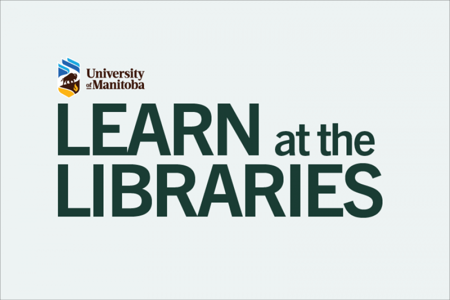 Learn at the Libraries logo