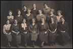 Portrait of the Board of Directors, Women's Section, S.G.G.A., 1923