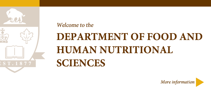 Welcome to Food and Human Nutritional Sciences