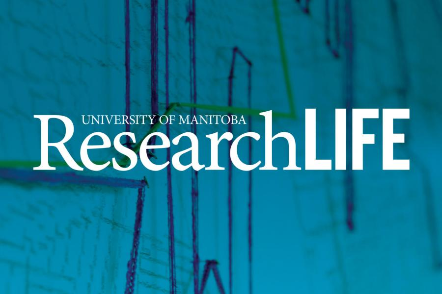 The cover of the winter 2020 University of Manitoba ResearchLIFE magazine.
