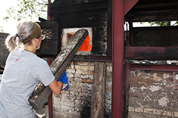 Wood Kiln Firing