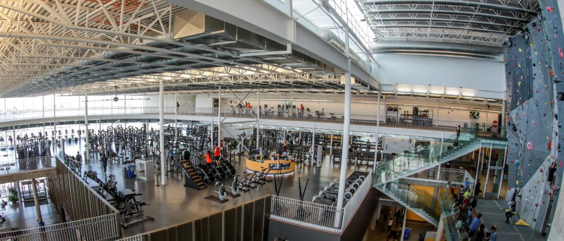 Active Living Centre at the University of Manitoba Fort Garry campus