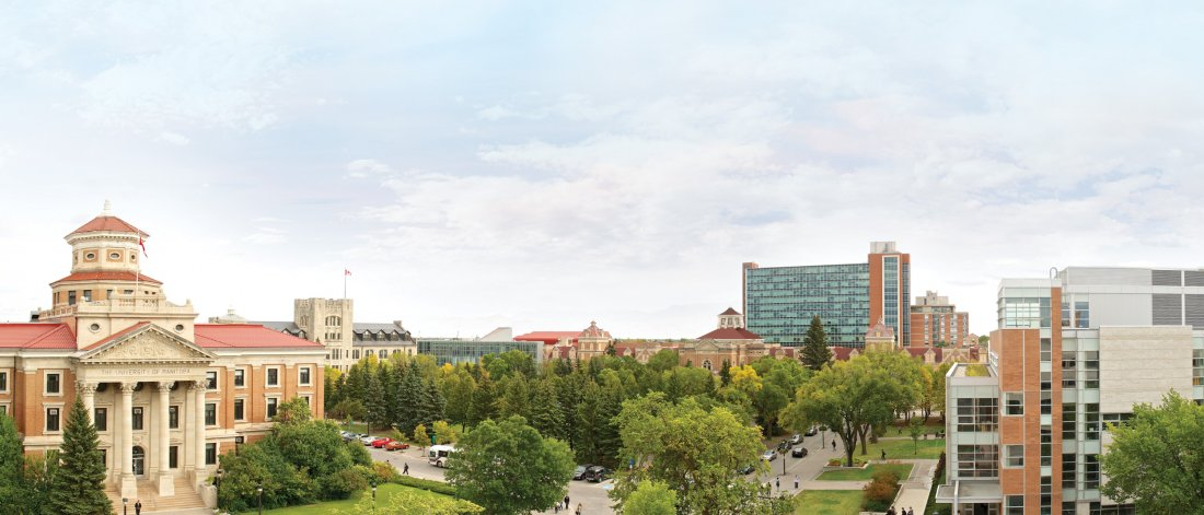 The University of Manitoba Fort Garry campus.