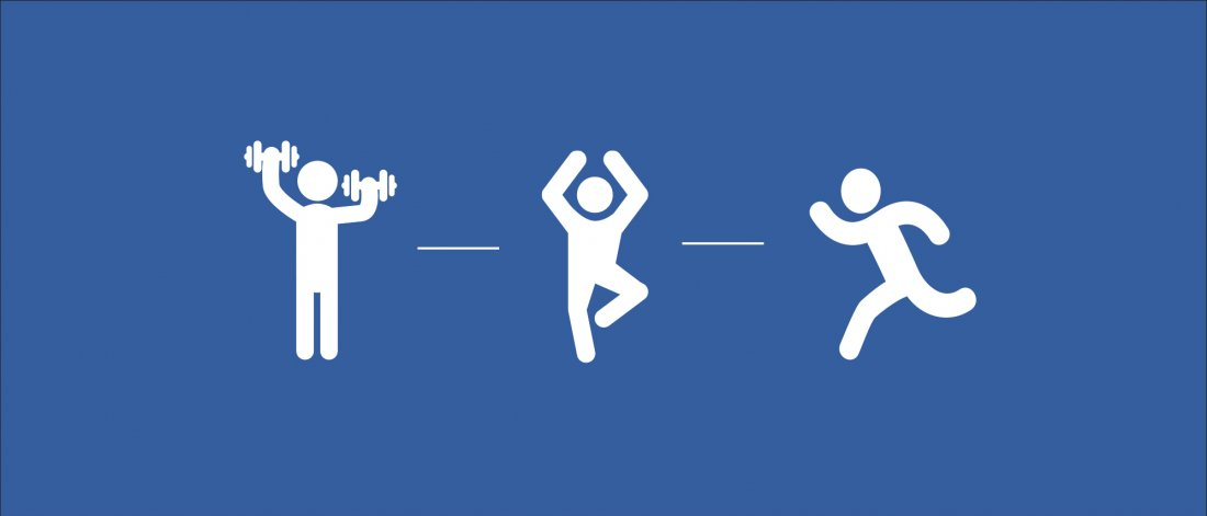 icons in workout positions