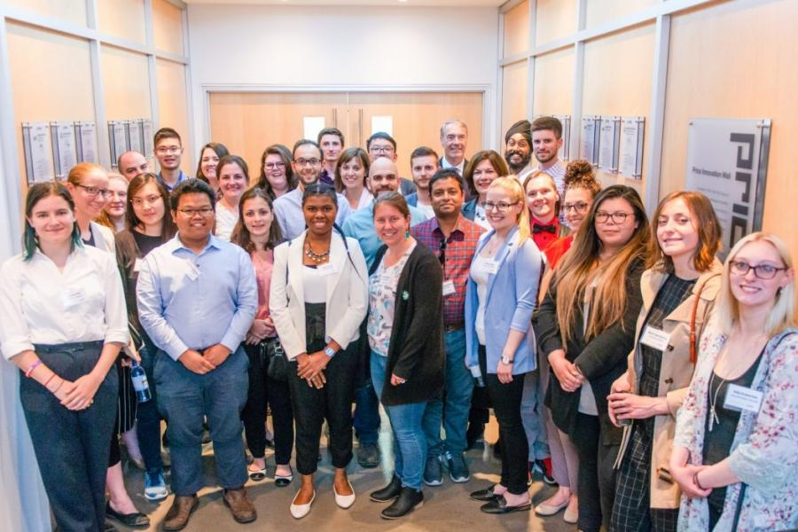 THE INAUGURAL COHORT OF THE PRESIDENT'S STUDENT LEADERSHIP PROGRAM