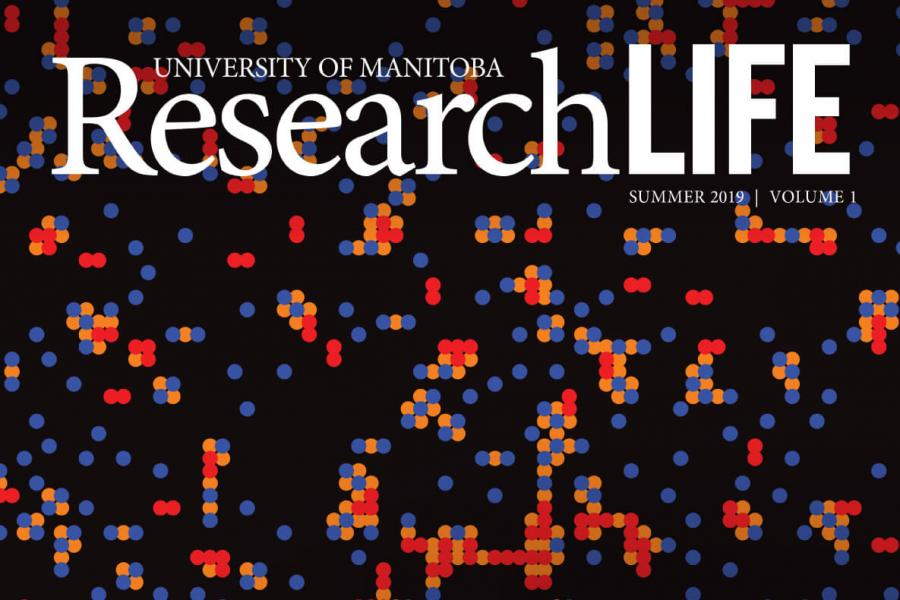 University of Manitoba Research Life magazine cover