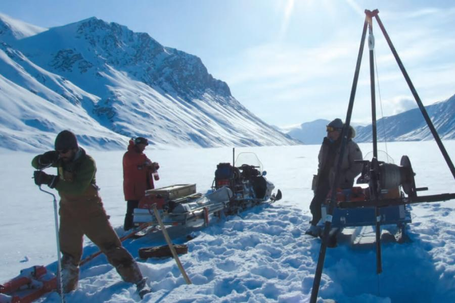 University of Manitoba researchers studying Arctic systems science and climate change.