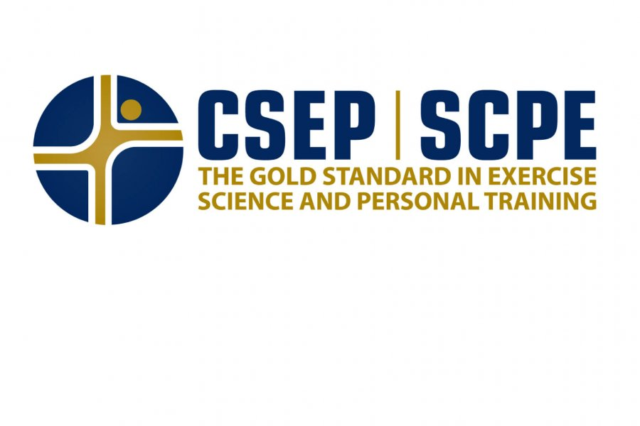 The Canadian Society of Exercise Physiology logo, the gold standard in exercise science and personal training.