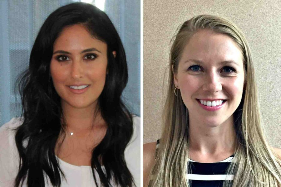 GRADUATES OF THE DR. GERALD NIZNICK COLLEGE OF DENTISTRY'S PEDIATRIC DENTISTRY GRADUATE PROGRAM RENA SIHRA (LEFT) AND TARA KENNEDY SCORED IN THE TOP THREE PER CENT ON THE AMERICAN BOARD OF PEDIATRIC DENTISTRY QUALIFYING EXAMINATION.