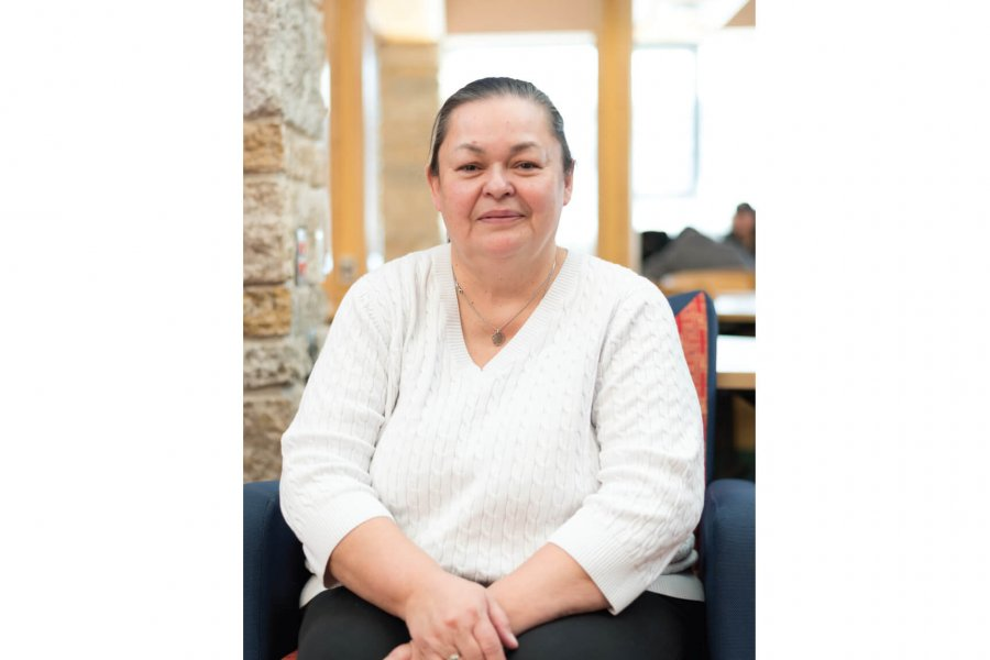 Victoria McIntosh, Anishinaabe Faculty of Education, Access Program graduate student of 2019.