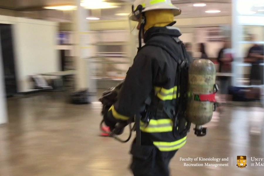 Thumbnail for Canadian Forces Fire Marshall's Fire Fighter Pre Entry Fitness Evaluation