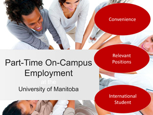 Part-time on campus job search