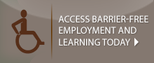 Access Barrier-free employment and learning today