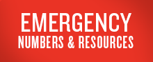 Emergency Numbers and Resources