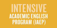 Intensive Academic English Program (IAEP)